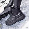 Ботинки женски Tadeo демисезонные черные натуральная кожа ))В НАЛИЧИИ ТОЛЬКО 36р, фото 3