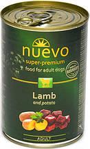 Консерва для собак Nuevo Adult з ягням і картоплею 800 г