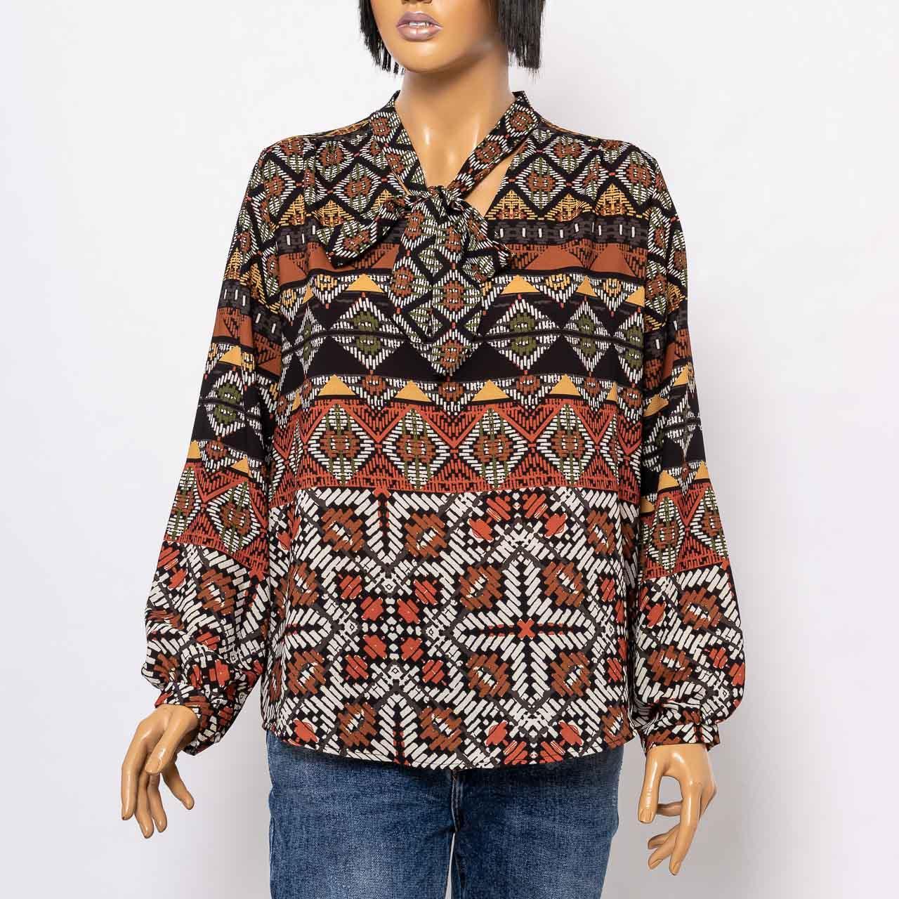 Блуза женская NEW COLLECTION 5123 KIREMIT ROMB