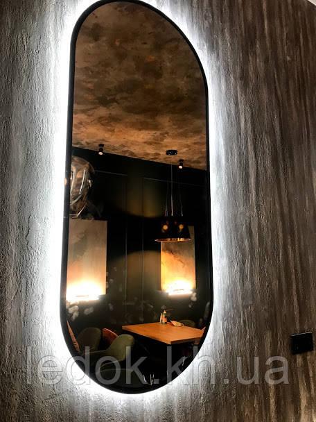 Зеркало овальное с Led подсветкой Tornado