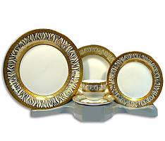 Столовый набор 30 предметов на 6 персон Golden Sun Elina ELS-697