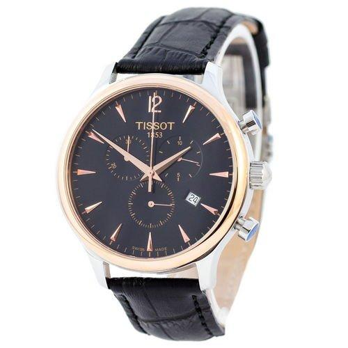 Tissot T-Classic Tradition Chronograph Black-Silver-Gold-Black