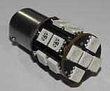 Автомобильный светодиод P21/5W (17-SMD)(5050)(КРАСНЫЙ), фото 6