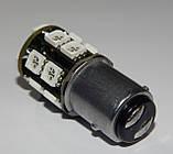 Автомобильный светодиод P21/5W (17-SMD)(5050)(КРАСНЫЙ), фото 5