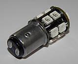 Автомобильный светодиод P21/5W (17-SMD)(5050)(КРАСНЫЙ), фото 4