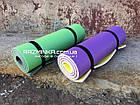 Каремат зимний 1800х600х12мм, желто-бело-фиолетовый, фото 4
