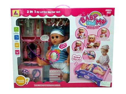 Лялька-пацієнт з набором лікарських інстр./ КТ3000A/ KT4300A GC035843