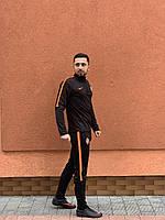 Спортивный мужской костюм Шахтёр Nike 2019 Rank 2 черный