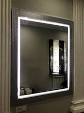 Зеркало в багетной раме с подсветкой Style
