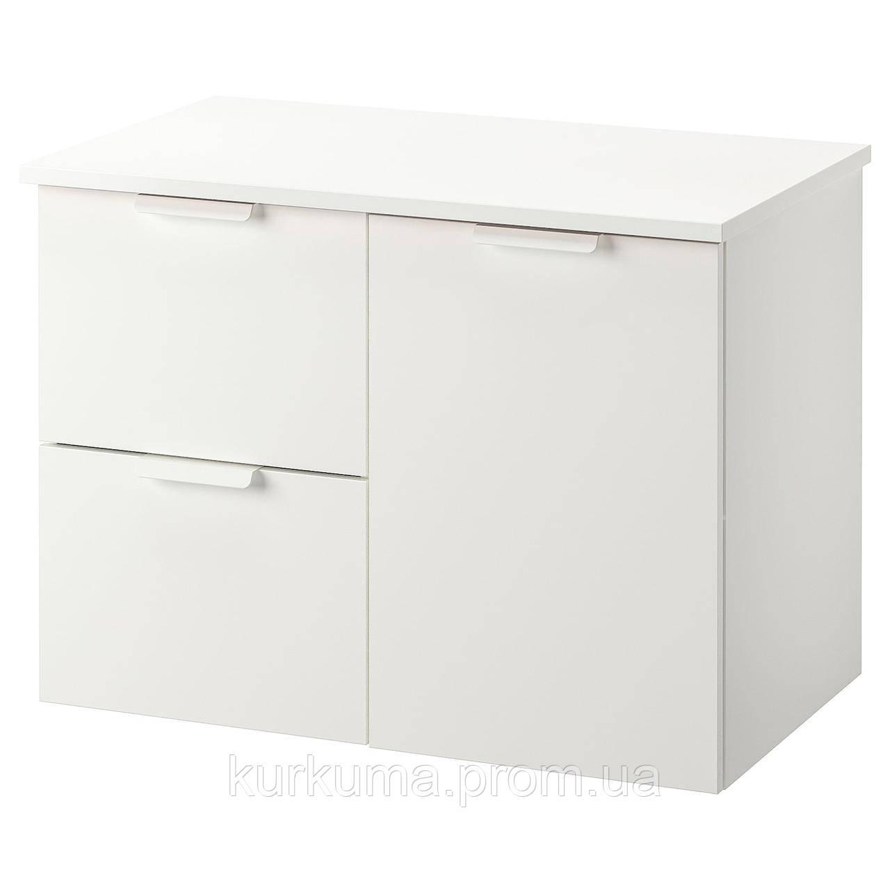 Шкаф под умывальник IKEA GODMORGON / TOLKEN (392.952.56)