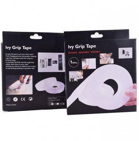 Многоразовая крепежная лента 3 м Ivy Grip Tape 150003, фото 2