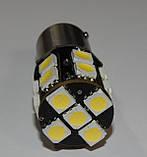 Автомобильный светодиод P21W (17-SMD)(5050)(БЕЛЫЙ), фото 4