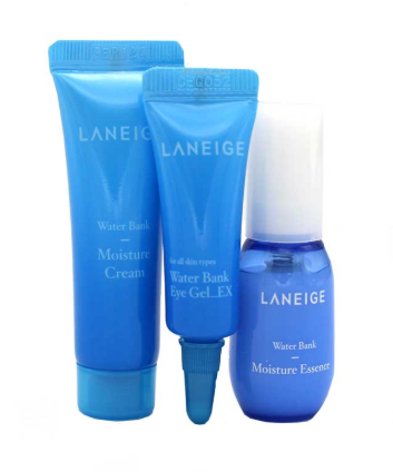 Набор миниатюр для увлажнения кожи Laneige Water Bank Moisture Kit (3 items)