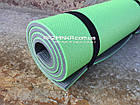 Толстый каремат 1800х600х12мм, зелено-серый, фото 3