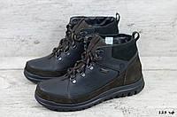 Мужские кожаные зимние ботинки Zangak (Реплика) (Код: 123 чф  ) ►Размеры [40,41,42,43,44,45], фото 1