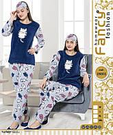 Женская махровая пижамка с ночником) Качество отличное!!! Турция