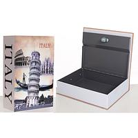Металлическая книга-сейф (кешбокс) Metr+ MK 1847 Italy