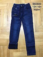 Джинсы утепленные для мальчиков оптом, Grace, 134-164 см,  № B82800, фото 1