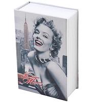 Металлическая книга-сейф (кешбокс) Metr+ MK 1847 Monro