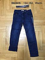 Джинсы утепленные для мальчиков оптом, Grace, 134-164 см,  № B82809, фото 1