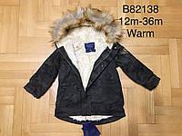 Куртка на меху для мальчиков оптом, Grace, 12-36 мес.,  № B82138