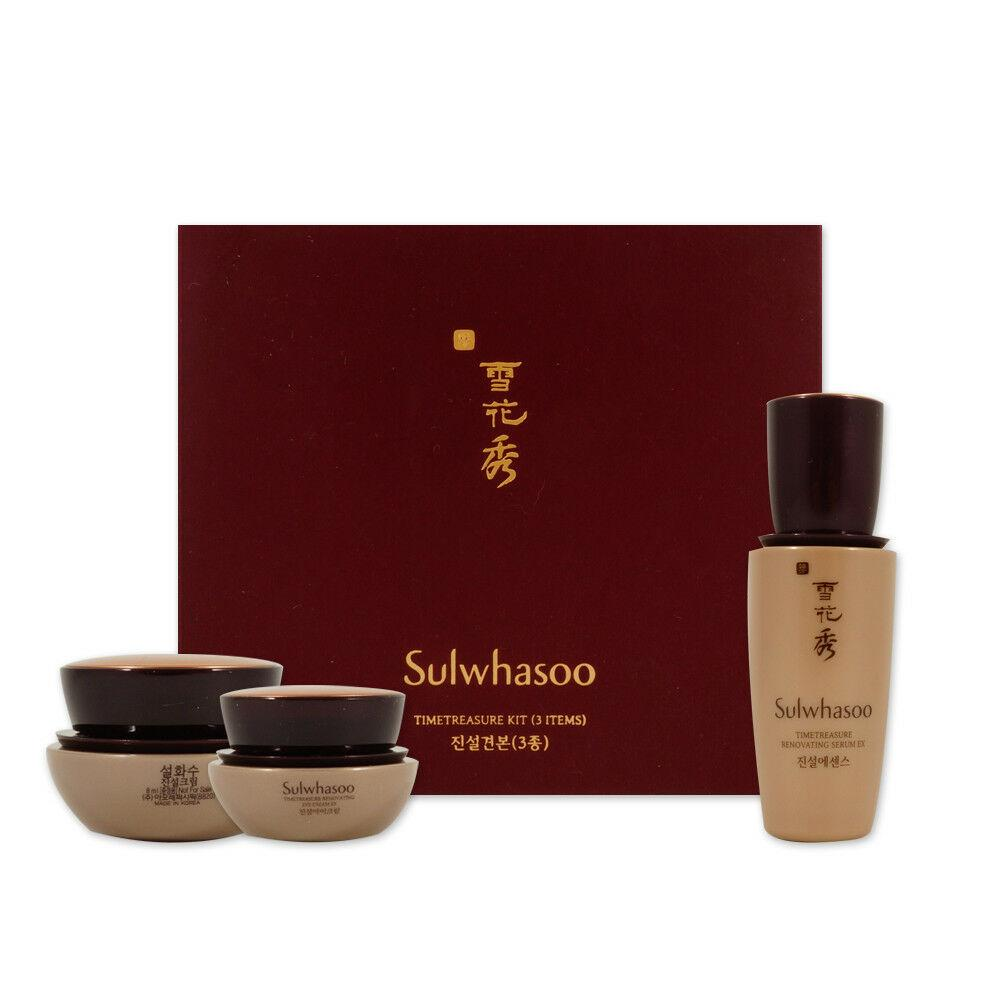 Антивозрастные средства для лица Sulwhasoo Timetreasure Kit (3 items)