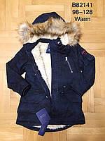 Куртка на меху для мальчиков оптом, Grace, 98-128 см,  № B82141