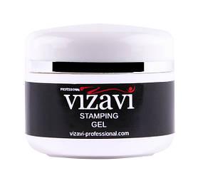 Гель краска для стемпинга Vizavi Professional