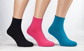 Жіночі носки Kardesler шкарпетки стейчеві для діабетиків ароматизовані однотонні  36-40 12 шт в уп мікс 12 кол