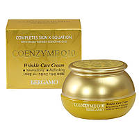 Омолаживающий крем против морщин с коэнзим Q10 и гиалуроновой кислотой Bergamo Coenzyme Q10 Wrinkle Care
