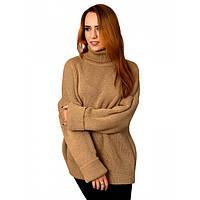 Об'ємний жіночий светр