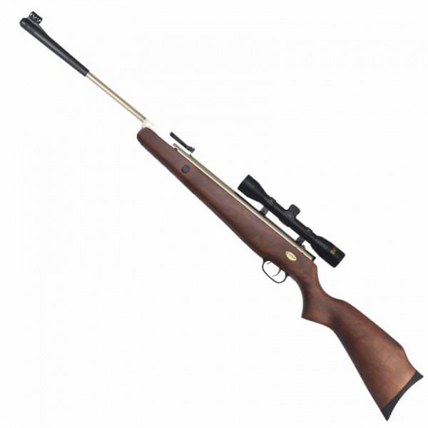 Гвинтівка пневматична з оптичним прицілом Beeman Silver Kodiak (4х32, 4.5 мм), газова пружина