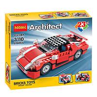 """Конструктор Decool 3110 Architect (Аналог Lego Creator) """"Универсальный 23 в 1"""" 278 деталей, фото 1"""