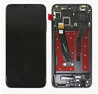 Дисплей (экран) для телефона Huawei Honor 8X + Touchscreen with frame (copy) Black