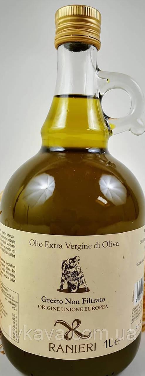 Оливковое масло не фильтрованное  Extra Vergine di Oliva Ranieri, 1 л