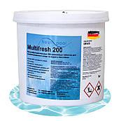 Таблетки для бассейна 3 в 1 Fresh Pool мультифункциональные по 200гр. Хлор для бассейна Немецкий 5 кг