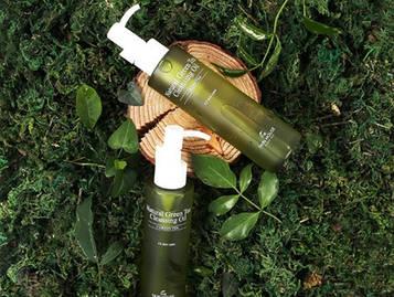 Гидрофильное масло с экстрактом зеленого чая