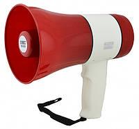 Рупор Гучномовець ER-22U /20W (Аккумулятор,USB,сирена,запись голоса), фото 1