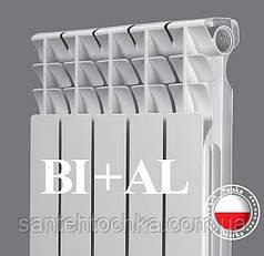 Радиатор Paskal биметаллический Bi 500/80 (секция 132 Вт., 1.18 кг. 24 бар.)