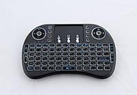 Клавиатура KEYBOARD wireless MWK08/i8 LED+ touch с подсветкой, Беспроводная клавиатура, Блютуз мини клавиатура