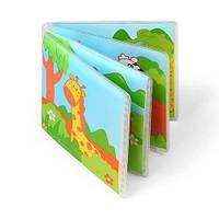 Мягкая книжка с пищалкой Baby Ono Дикие животные (887)