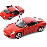 Автомобиль АвтоСвiт Porsche Красный (AS-1804)
