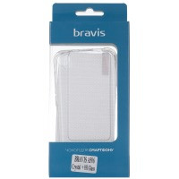 Чехол для сматф. BRAVIS A506 Crystal - TPU Clean + 9H Glass (Transparent)