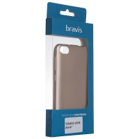 Чехол для сматф. BRAVIS A509 Jeans - Shiny (Black)