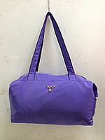 Женские сумки из шелковой плащевой ткани  оптом
