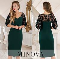 Женское вечернее платье №1887 темно-зеленый (р.42-48), фото 1