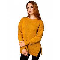 Красивый вязаный свитер женский, фото 1