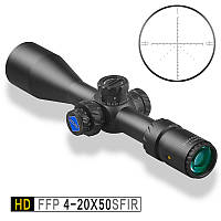 Прицел оптический HD/30 FFP 4-20x50 SFIR-Discovery