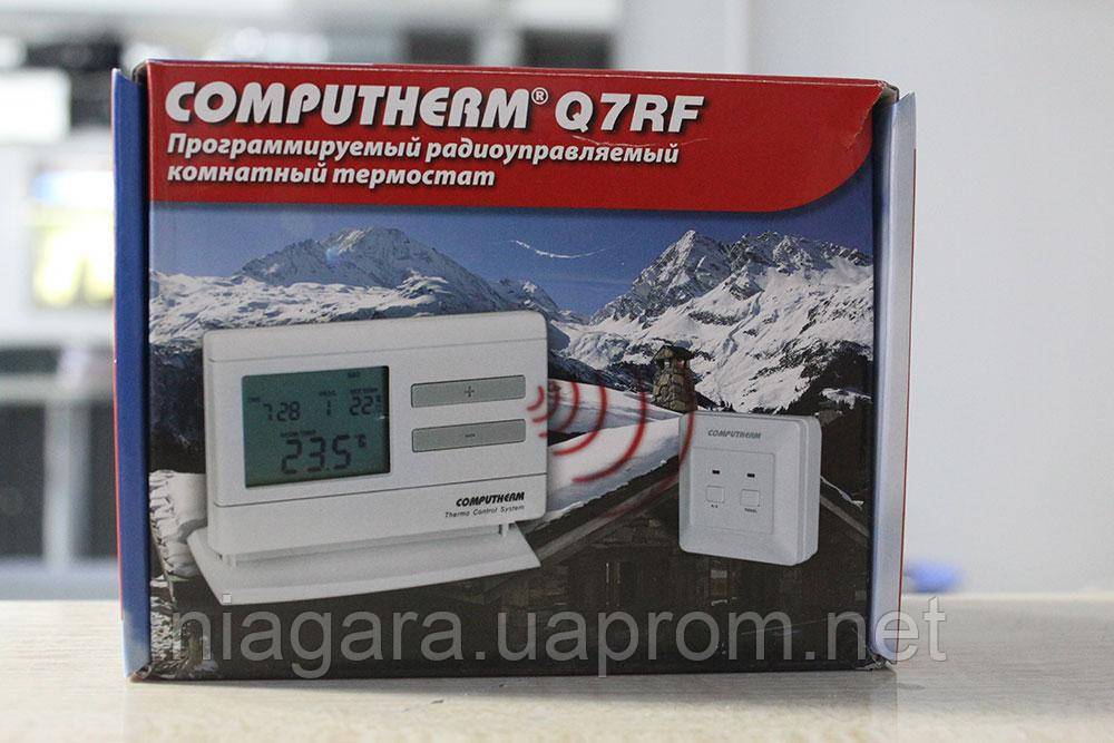 Безпровідний тижневий терморегулятор Computherm Q7 RF