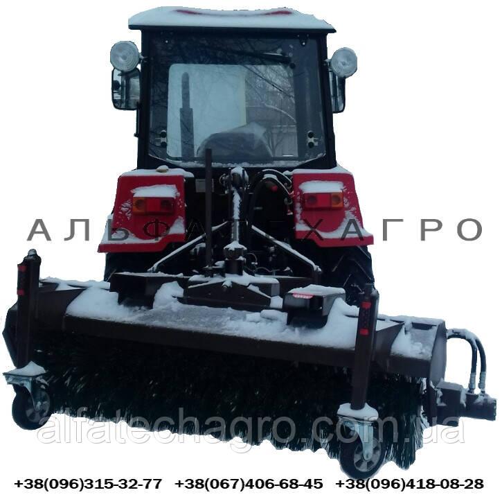 Щетка дорожная гидравлическая к трактору